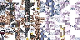 tiles del remake de la abadia